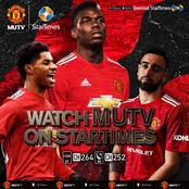 Startimes Signs  Deal with Manchester United
