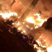 Popular Onitsha Market Reportedly on Fire (Video)