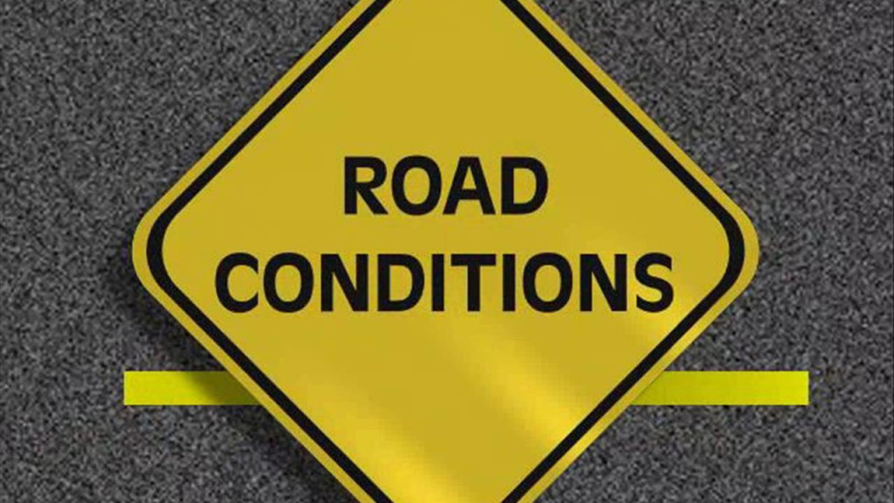 ROAD UPDATES: As they happen during winter storm Tuesday