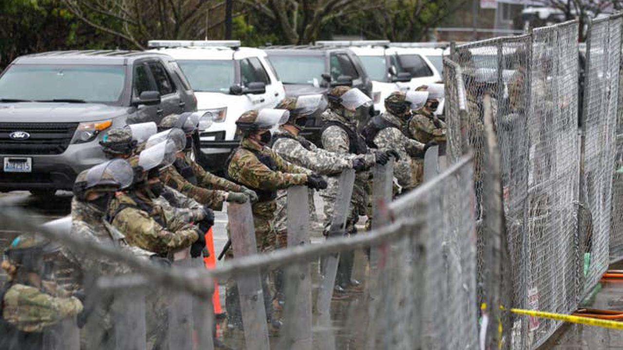 State capitols boarded up, fenced off, patrolled by troops