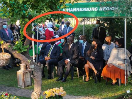 Watch what People Noticed while the President Was at The Wreath laying Ceremony of Winnie Mandela: