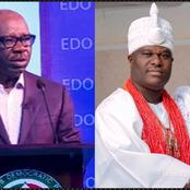 Today's headlines: Obaseki appeals to FG to come clean on N60Bn printing,  Ooni of Ife speaks on Oduduwa Republic, says women are key to the struggle