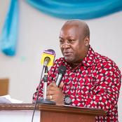 This Is What Mahama Had To Say About Galamsey Operators When Voted Into Power