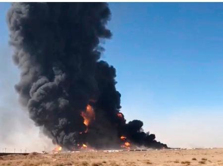 Over 17 Injured and Over 500 Vehicles Burst into Flame After Fuel Tanker Overturned in Afghanistan