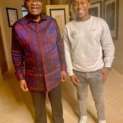 Mzansi react to Ntando Duma's baby daddy visiting the former president Jacob Zuma