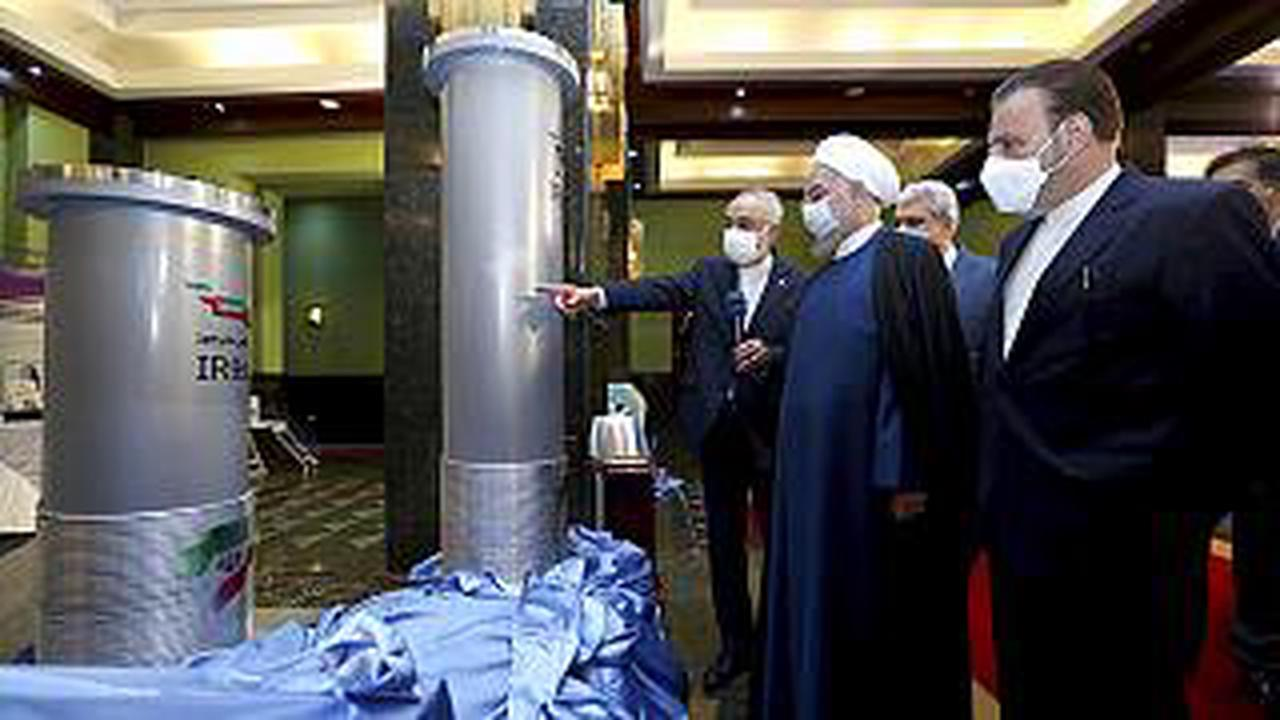 Iran unveils new nuclear facilities
