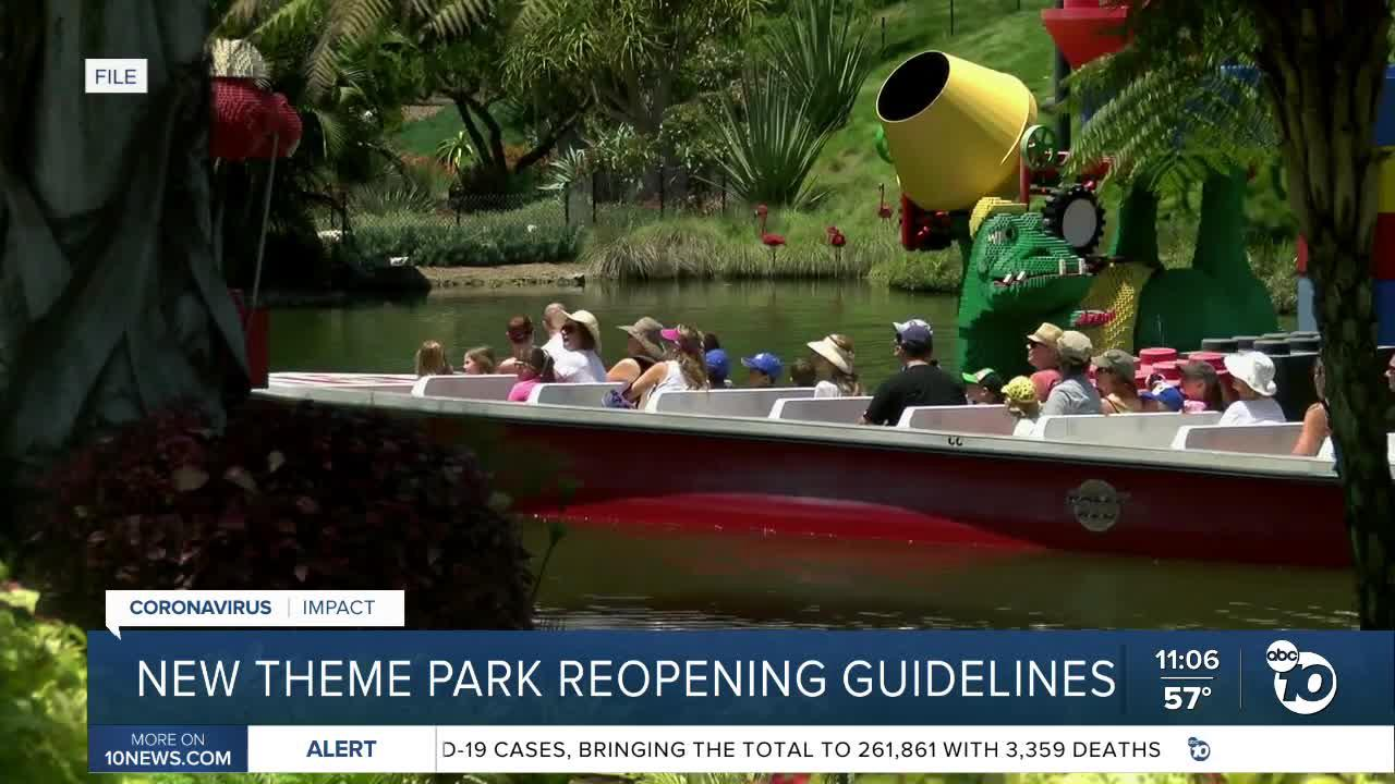 Theme parks could reopen with rides as soon as April 1st