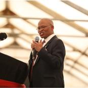 Chief Justice Mogoeng called to apologize for praying for fire against Devil vaccines and Israel.