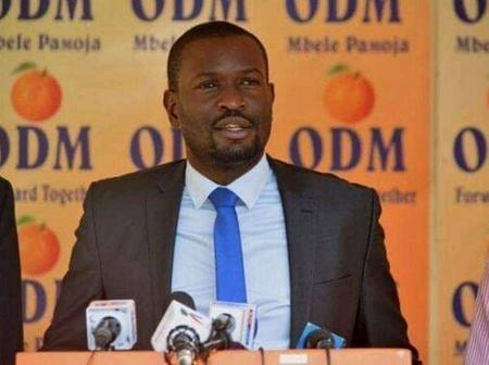 ODM Director Of Communications Addresses The Alleged Sacking Of Edwin Sifuna