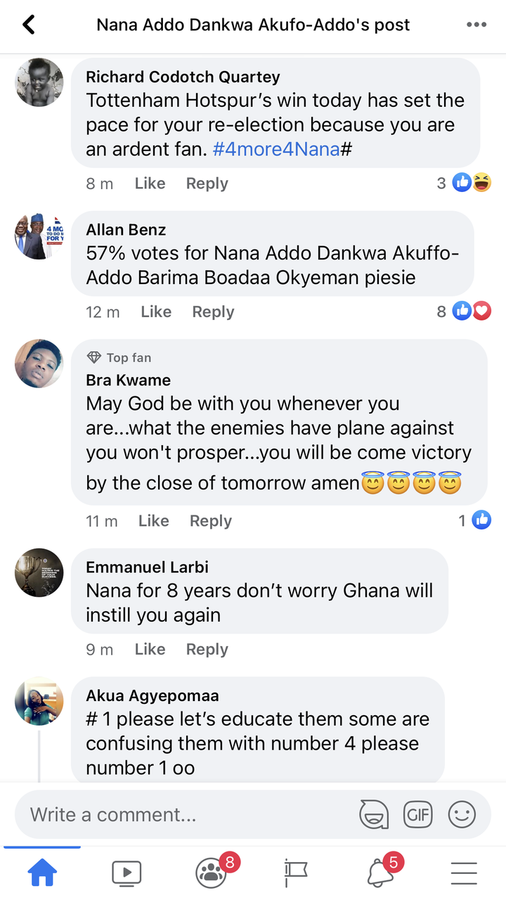 """1fc66f1e93e8dfa9f0b40fb035a7b2d8?quality=uhq&resize=720 - """"We can't never be ungrateful"""": Ghanaians React To President Akufo-Addo's Nation Address Positively"""