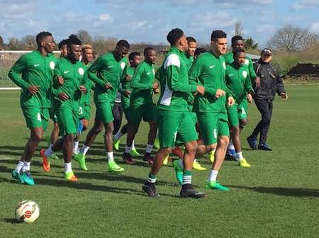 AFCON: Super Eagles Has Left Nigeria To Benin By Boat, Ahead Of Tomorrow's Game (Photos & Video)