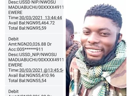 Nigeria Soldier Laments After Thief Stole All His Money, Read The Amount That Was Stolen