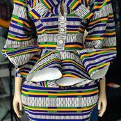 Few Days To Mother's Day, See Ankara Blouses That You Can Rock