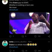 Evans of date rush trends on Twitter for this hilarious reason.