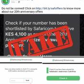 Safaricom PLC: We are not giving any money to our customers