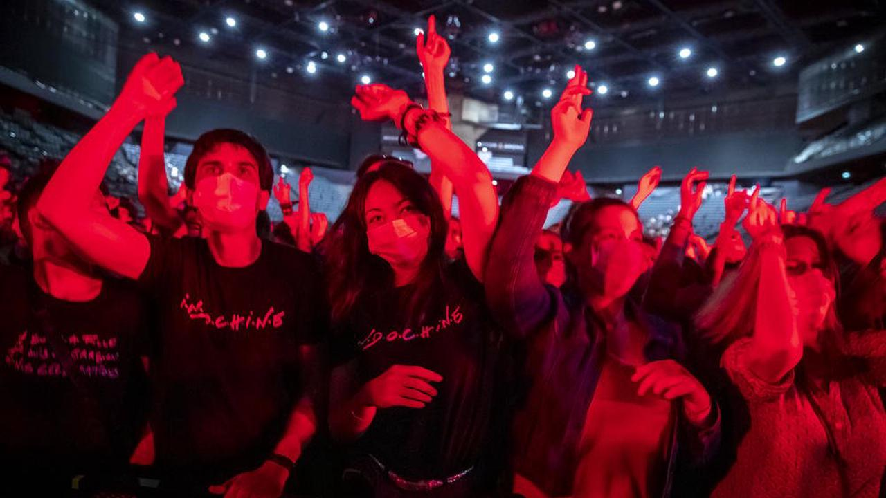 Concert test d'Indochine: 5000 volontaires manquent à l'appel