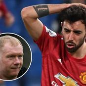 Man-U Legend Paul Scholes Goes On Hard Bruno Fernandes, See What He Said About Him