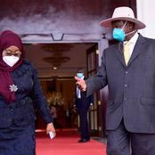 Change of Policy, Tanzanian President Samia Suluhu Seen in Public Wearing a Face Mask