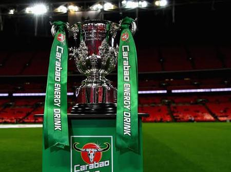 Official: Carabao Cup Quarter-Finals Fixtures, date and time revealed.