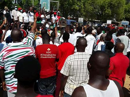 U/W: NDC to Demonstrate in Wa Central