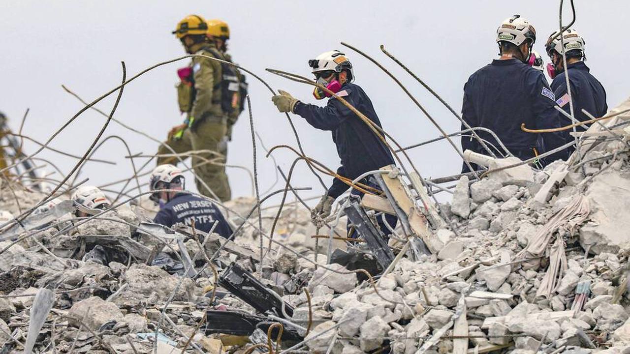 Immeuble effondré en Floride: Bilan final de 98 morts, la dernière victime retrouvée