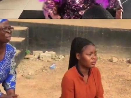 Lady Spreads Rumor Claiming A Restaurant Owner Uses Mortuary Water To Cook And This Happened.[VIDEO]