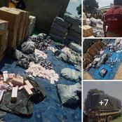 NDLEA Arrests contraband drug dealers in zamfara [Photos]
