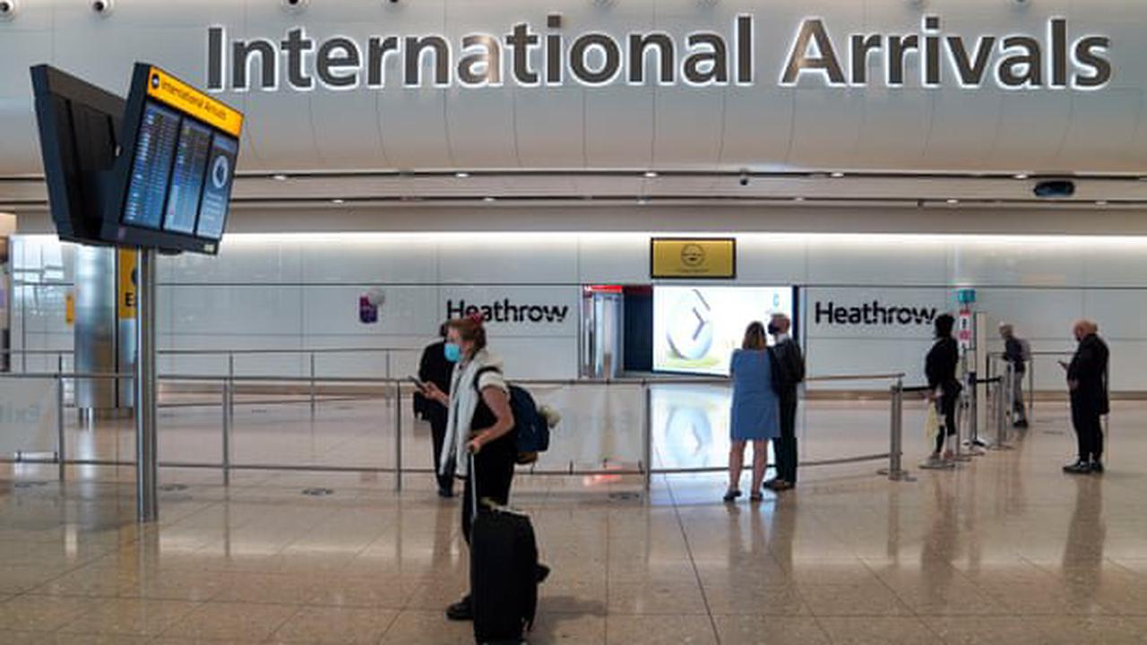 UK Covid live news: fully vaccinated travellers from US and EU arrive in UK without having to isolate