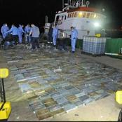 Ten suspects arrested for being in possession of R583 million cocain shipment in SA