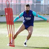 Barca defender risks suffering a further relapse after forcing himself to be fit for the clasico