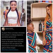 Akuapem Poloo Has Been Convicted For The Publication Of Naked Photos With Her Son.