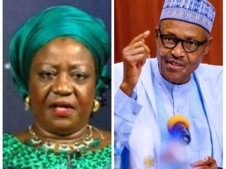 Reactions As Buhari's Aide Mrs Laurette Onochie Says There Will Be Never Be Biafra Again