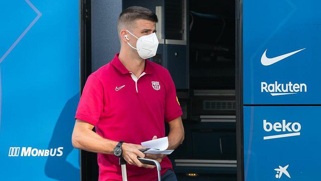 """Piqué-Frust in Barcelona: """"Hier, um um Titel zu kämpfen"""""""
