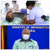 COVID-19 vaccination compulsory for all Ghanaians is possible – Agyeman-Manu.
