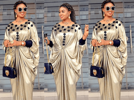 Ladies, Check Out These Beautiful Kaftan And Boubou Styles You Can Try