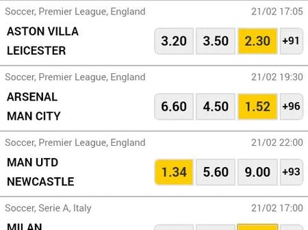 Stake High On the following VIP Multibet Matches Earn Huge Cash Tonight.