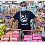 'This is Actually Beautiful,' A man Intended to Distribute Sanitary Towels To The Girls