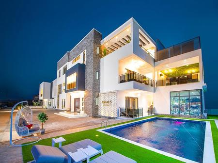 Mansion Owned By Odion Jude Ighalo At Lekki Is Really Luxurious, Check Out Its Interior Views.
