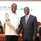 Utilisant l'alliance, Mabri salut la reconnaissance de Ouattara et rend un hommage à Epiphane Zoro