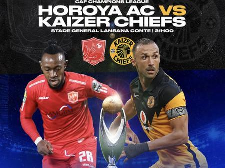 Sundowns and Orlando Pirates are rallying behind Kaizer Chiefs toward their match against Horoya.