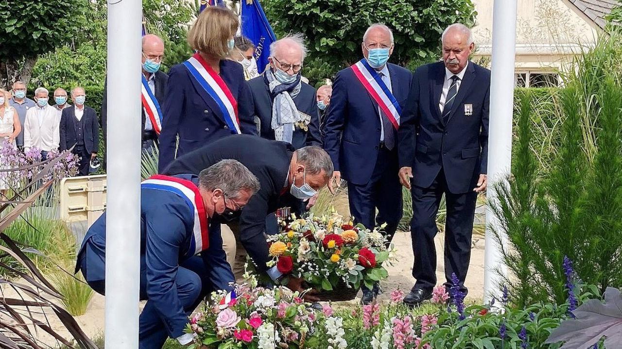 Jullouville. 77e anniversaire de la libération de Jullouville