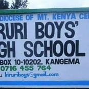 Fire Razes Down an Entire School Dormitory in Kangema, Murang'a County