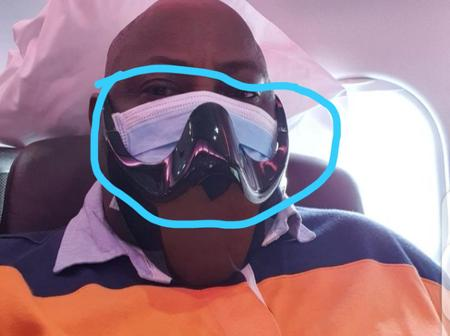 Hours After Dele Momodu Was Seen Wearing Two Nose Masks, See How People Reacted