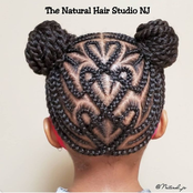 30+Neat and Fancy Hairstyles For A Girl Child
