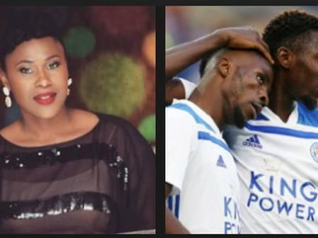 Uche Jombo reacts after Ndidi Posted a Video of Iheanacho, points out important attribute they have.