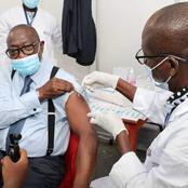 Vaccination contre la Covid-19/Le Ministre Amichia a reçu sa dose ce matin. Son message aux Ivoiriens