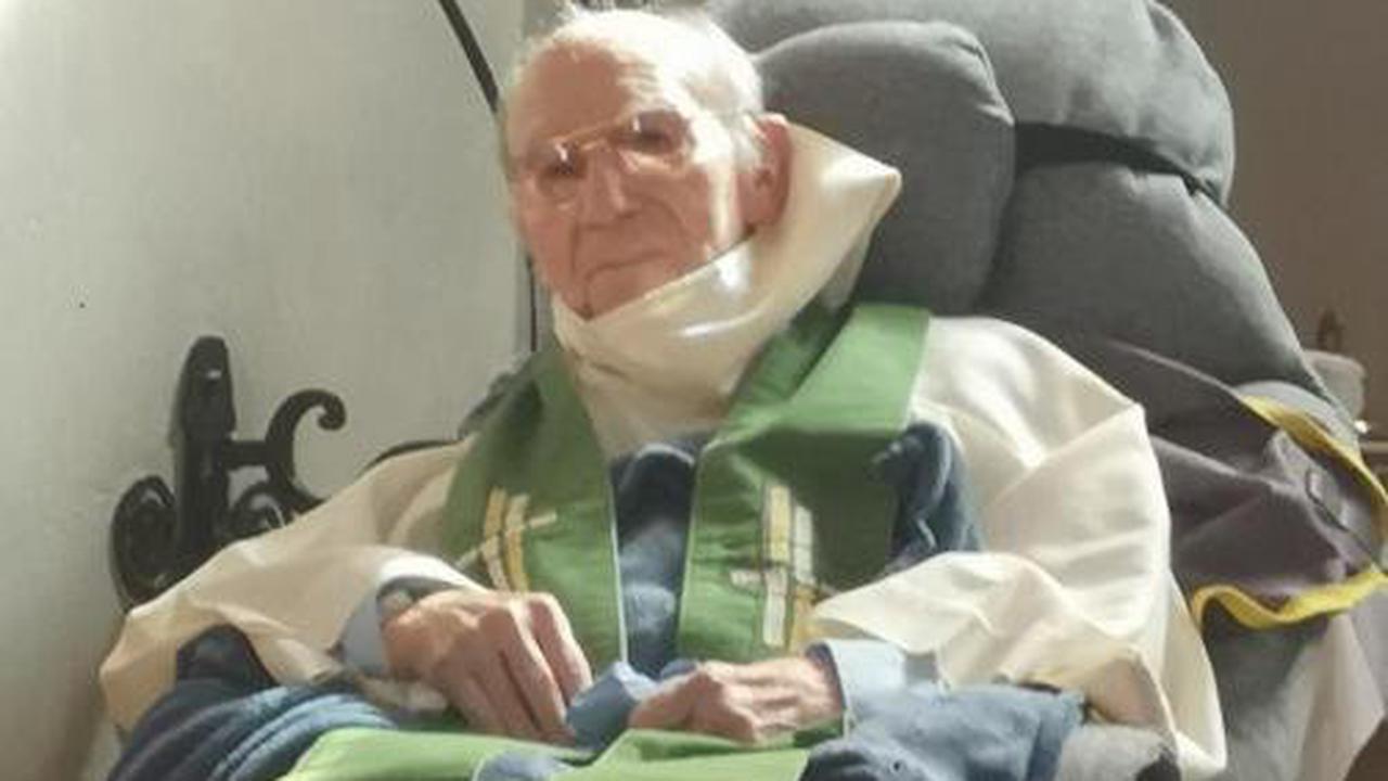 Le doyen Laprade a 100 ans à Monthois