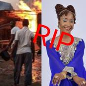 Today's Headlines: Gas Explosion Rocks Lagos Community, Popular TV Presenter Dies At 38