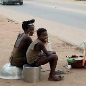 Société: sos pour une malade mentale et son enfant qui mangent, dorment...dans la rue
