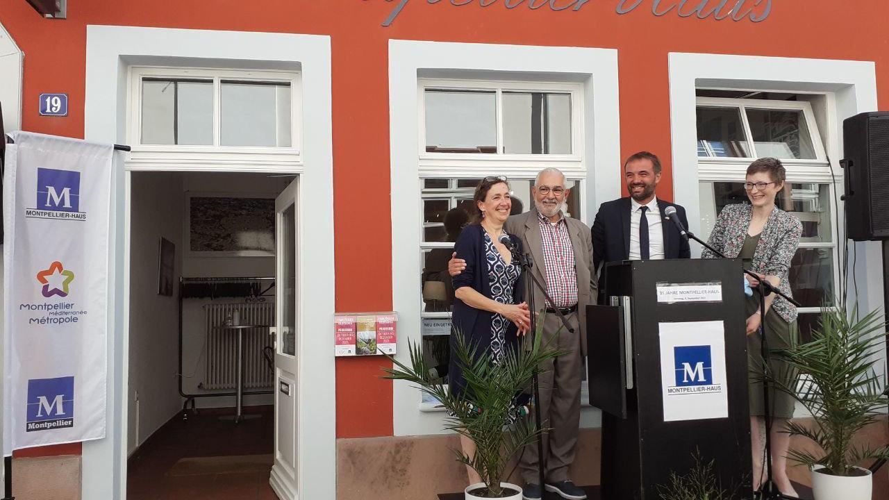 Montpellier : Michaël Delafosse dans la ville jumelle de Heildelberg pour une date anniversaire